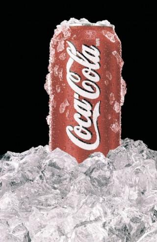 可樂廣告圖片