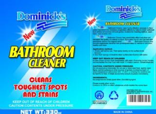浴室清洁剂包装图片