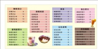 奶茶 奶茶價目表圖片